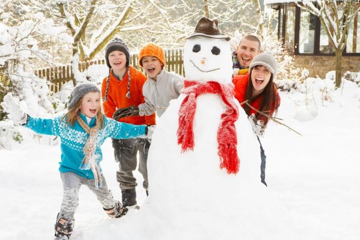Зимний отдых в Ленинградской области с детьми