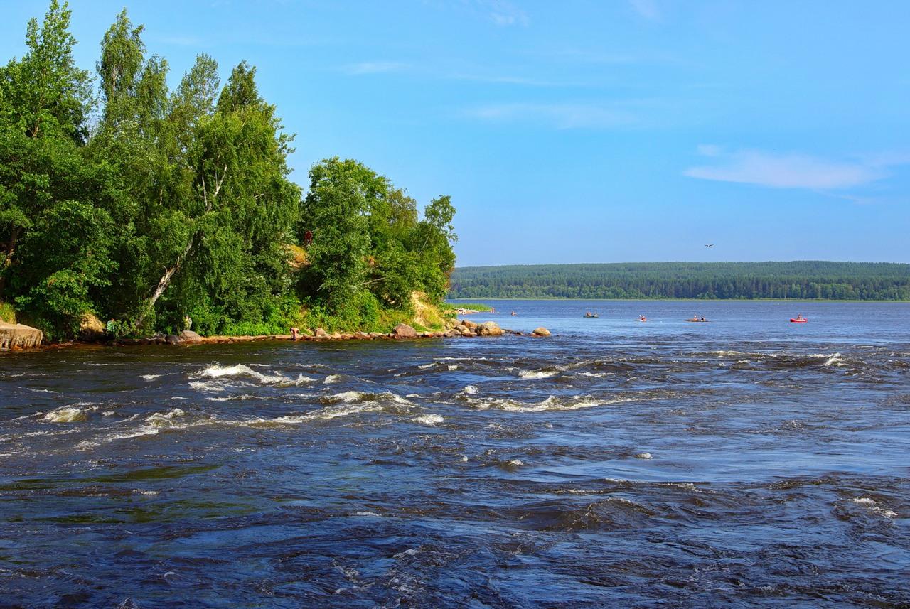 Новая база отдыха в Ленинградской области