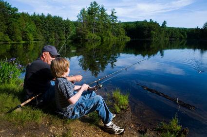 Отдых и рыбалка в Ленинградской области