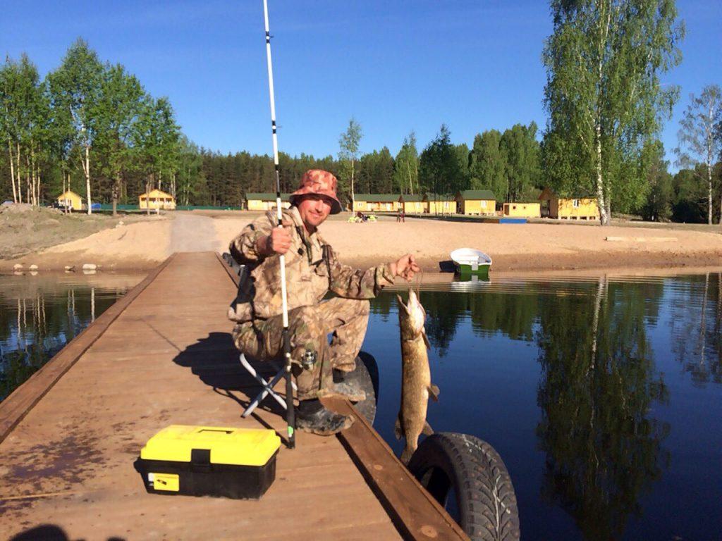 База отдыха с рыбалкой