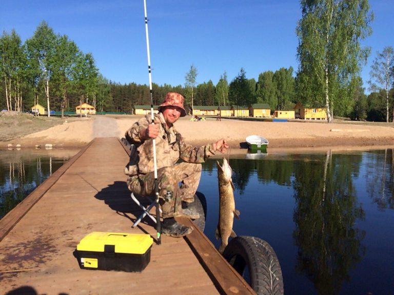 рыбалка на озерах ленобласти