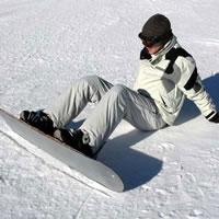 Катание на детском сноуборде в ЛО