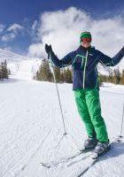 катание на лижах на базе отдыха в ЛО