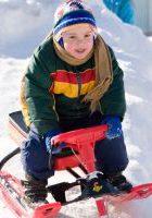 снегокат детский в ЛО база отдыха